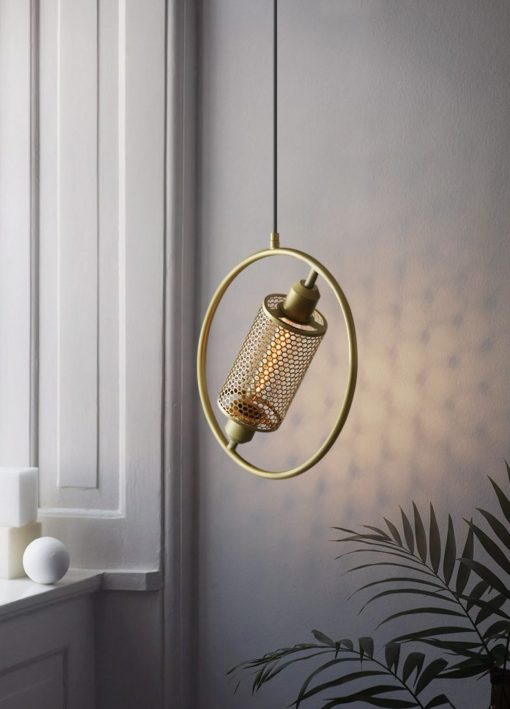 Iron NET Postmoderng Pendent Lamp