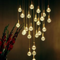 Crystal Bulb LED Pendant Lamp