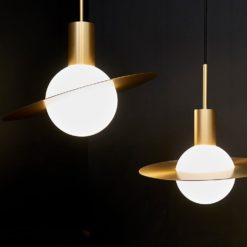 Saturne Suspensions Lamp