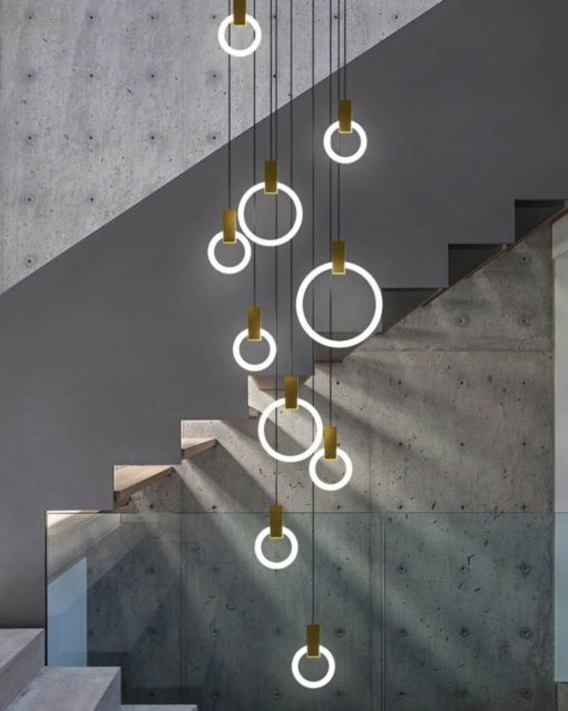 Halo Suspended lights