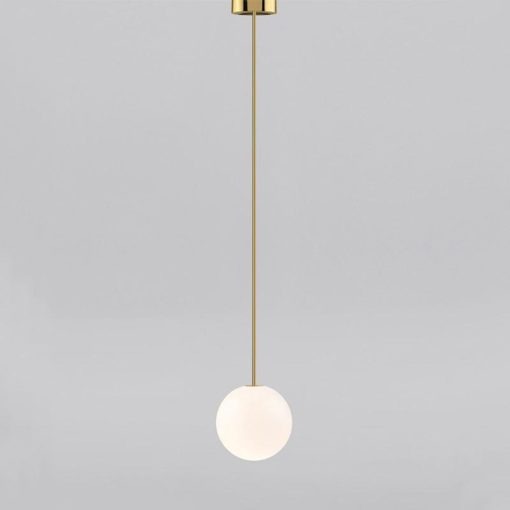 Brass architectural collection pendants