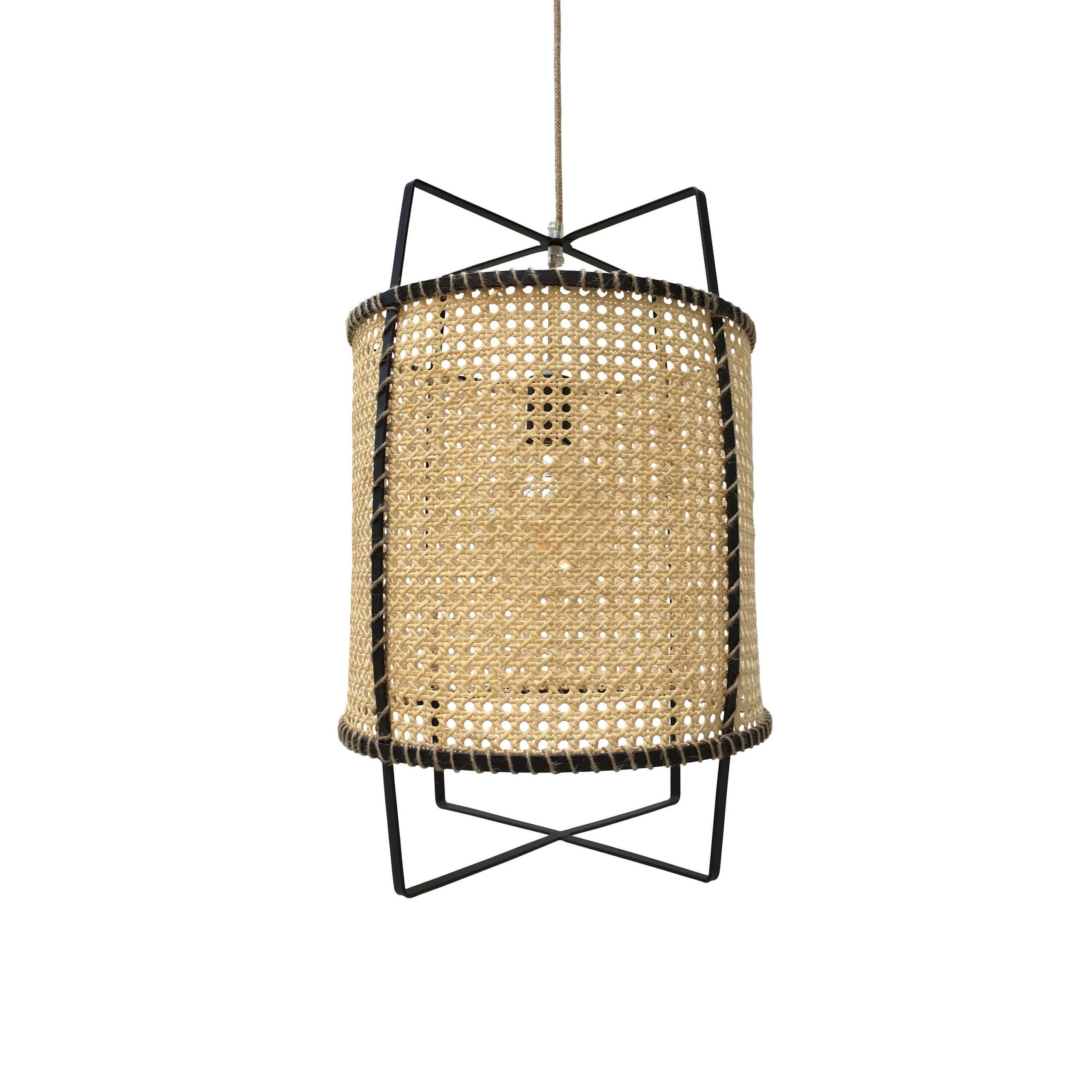 Rattan Cane Pendant Light